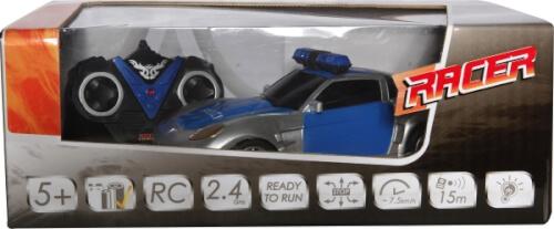 Racer R/C Polizeiwagen 2.4GHz, 1:24