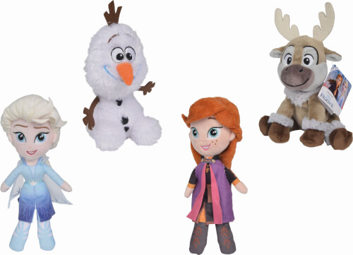 Simba Nicotoy Disney Frozen 2 Friends, 20cm, 4-so.DP12