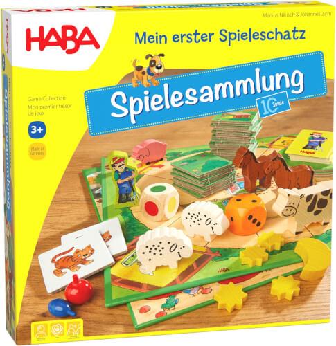 HABA - Mein erster Spieleschatz - Die große HABA-Spielesammlung, für 2-6 Spieler, ca. 15 min, ab 3 Jahren