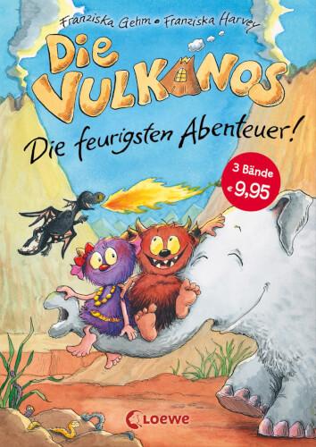 Loewe Die Vulkanos - Die feurigsten Abenteuer (Band 1-3)