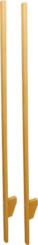 Outdoor active Stelzen aus Holz, Länge 150 cm, verstellbar
