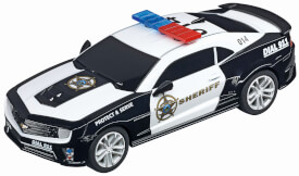 Carrera GO!!! Plus - Chevrolet Camaro ZL1 (Sheriff), 1:43, ab 6 Jahre