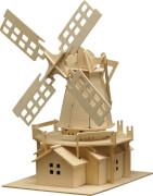 Holzbausatz Windmühle 78 Teile