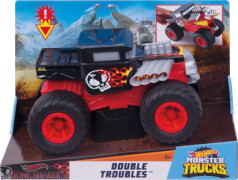 Mattel GCG07 Hot Wheels Monster Trucks 1:24 Bone Shaker Double Troubles