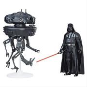 Hasbro C1245EU4 Star Wars Episode 8 Class A Forcelink Fahrzeuge mit Figur, ca. 10 cm, ab 4 Jahren