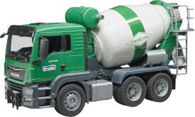 Bruder 03710 MAN TGS Betonmisch-LKW, ab 3 Jahren, Maße: 50,8 x 18,5 x 26,4 cm, Plastik & Kunststoff