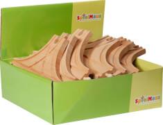 SpielMaus Holz Große T-Weiche