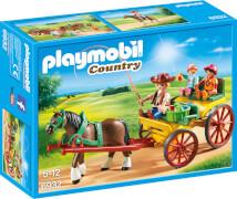 PLAYMOBIL 6932 Pferdekutsche, ca. 8x19x25, ab 5 Jahren