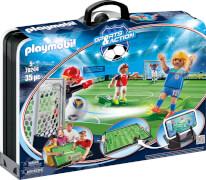 PLAYMOBIL 70244 Große Fußballarena zum Mitnehmen