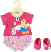 Zapf BABY born® Bath Shorty Pyjama m.Clogs