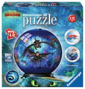Ravensburger 11144 Puzzleball Dreamworks Dragons 3 72 Teile Junior