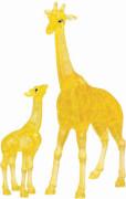 3D Crystal Puzzle Giraffenpaar 38 Teile