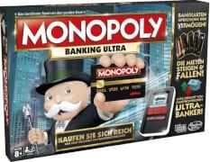 Hasbro B6677100 Monopoly Banking Ultra, für 2-4 Spieler, ab 8 Jahren