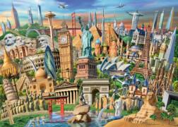Ravensburger 19890 Puzzle: World Landmarks 1000 Teile