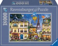 Ravensburger 17829 Puzzle Abendspaziergang durch Paris 18000 Teile