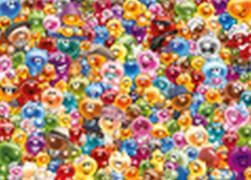 Ravensburger 16469 Puzzle Ganz viel Gelini 1000 Teile