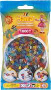 HAMA Bügelperlen Midi - Transparent Mix 1000 Perlen