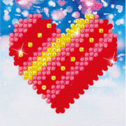 Diamond Dotz Herz 7,6 x 7,6 cm