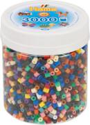 HAMA Bügelperlen Dose Volltonmix 3.000 Perlen