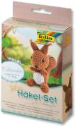 Folia - Mini-Häkelset Eichhörnchen 7 - 9 cm