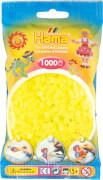 HAMA 207-34 Bügelperlen Midi - Neon Gelb 1000 Perlen, ab 5 Jahren