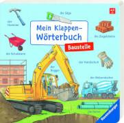 Ravensburger 43848 Mein Klappen-Wörterbuch: Baustelle