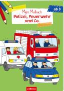 Malbuch Polizei
