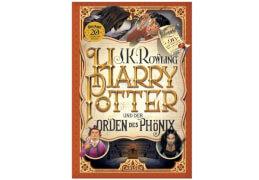 Harry Potter - Teil 5: Harry Potter und der Orden des Phönix, Hardcover, 960 Seiten, ab 10 Jahren