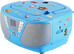 Tragbares CD/Radio - Kids blau NEU