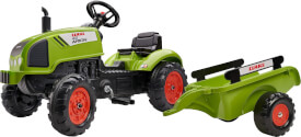 Tret- Traktor Claas mit Hänger