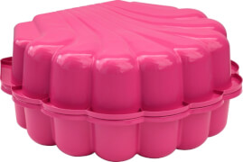 Sand/Wassermuschel 2-tlg., pink