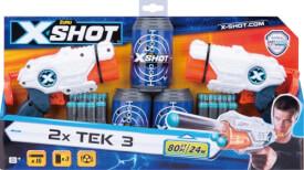 X-SHOT TEK 3 2er-Set inkl. 16 Pfeile und 3 Dosen, ab 8 Jahre