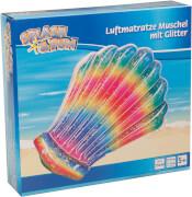 Splash & Fun Luftmatratze Muschel 135 x 115 cm