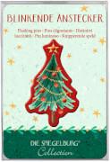Blinkende Anstecker Es ist so weit, Weihnachtszeit!,