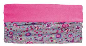 Fleecetube Sterne, rosa