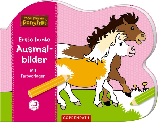 Erste Bunte Ausmalbilder Mein Kleiner Ponyhof 63079 Jetzt